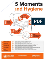 Your 5 Moments for Hand Hygiene Poster