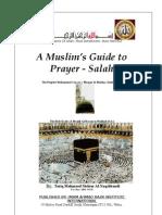 A Muslim Book of Prayer Salah