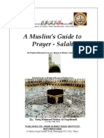 A Muslim Book of Prayer Salah
