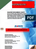 Transformasi KPM