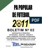 Boleim 2 - Copas Populares