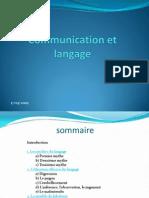 Communication Et Langage - Copie
