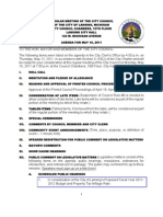 Lansing (MI) City Council info packet for May 16 meeting