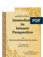 Immodesty in Islamic Perspective