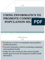 Lesson 10 - Promotion of Community Population Health