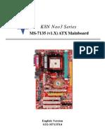 K8N Neo3 Series MS-7135 (v1.X)ATXMainboard