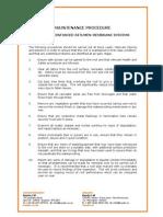 Maintenance Procedures_Bituminous Waterproofing Systems[1]