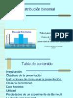 Modulo Sobre La Distribucion Binomial Por Wallter Lopez