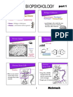 Biopsihologija 1