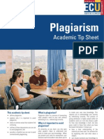 7. Plagiarism Academic Tip Sheet