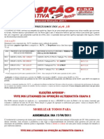 Cartaz Oposicao Alternativa - Maio 2011