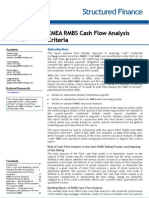 FITCH RMBS Cash Flow Criteria