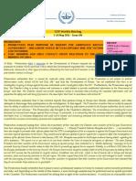 OTP Weekly Briefing_3-10 May 2011 #86