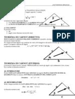 Teorema Dei Seni e Di Carnot