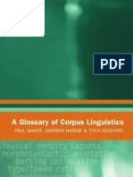 Glossary of Linguistics