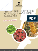 Evolución Precios Mayooristas y Minoristas 2001-2010