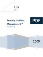 Remedy7 Incident Management