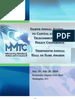 MMTC Access to Capital 2010 ConfBook