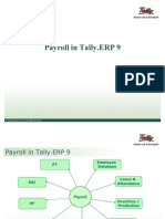 Payroll in Tally 9
