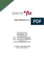 Berofix Manual