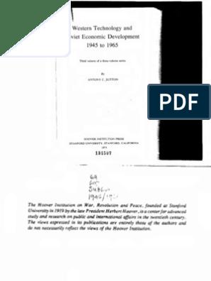 52404887915 3 - Western Technology and Soviet Economic Development 1945-1965 ...