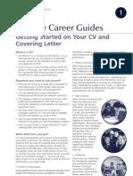 CVCovering Letter Guideline