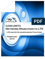 GSM-UMTS Network Migration Towards LTE