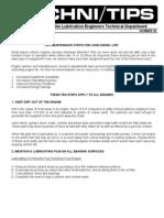 Ten Steps for Long Diesel Life