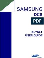 Samsung Euroset Series Keyset