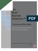 Small Business Turnaround Strategies