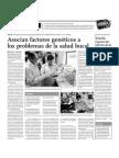 Asocian factores genéticos a los problemas de la salud bucal