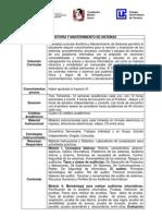 Auditoria y Mantenimiento de Sistemas1