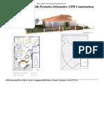 Plan maison individuelle Pyrénées Orientales- LPH Construction