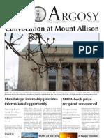 Argosy Convocation Issue May 12, 2011