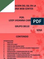 Instalacion de Ssl en La Pagina Web-centos