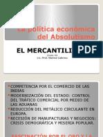 La política económica del Absolutismo
