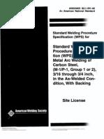 AWS SWPS B2.1-1-001