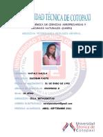 UNIDAD ACADÉMICA DE CIENCIAS AGROPECUARIAS Y RECURSOS NATURALES