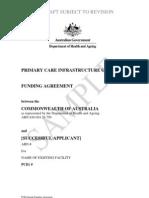 ITA 436 0910 PCIG Sample Funding Agreement