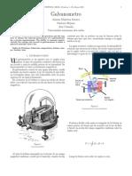 Galvanometro Lab 1