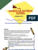MANEJO DE MATERIAL ESTÉRIL   clase 4 - SIN FOTO [Compatibility Mode]