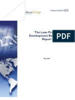 Aberdeen Lean PD Benchmark Report