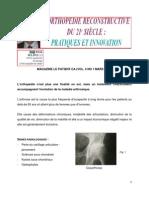Orthopedie Re Constructive Du 21siecle Dr Serge Tohme