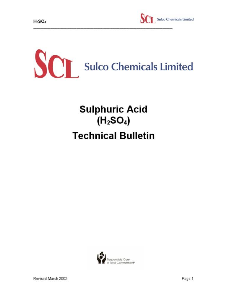 Sulphuric Acid Technical Info Sulfuric Acid Sodium Hydroxide