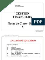 GESTIÓN FINANCIERA - quinta y sexta sesión