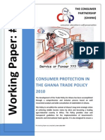 Wp6-Final-Consumer Protection in the Ghana Trade Policy 2010