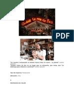Andrés Carne de Res Notas