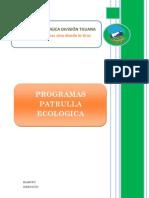 Resumen Patrulla Ecológica Versión 2008
