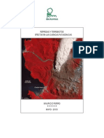 Represas y Terremoto en La Patagonia