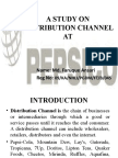 Distribution Channel of Pepsico